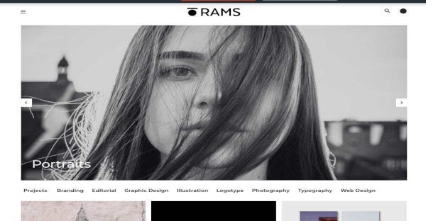 RAMS – Mobile-Friendly WordPress Theme