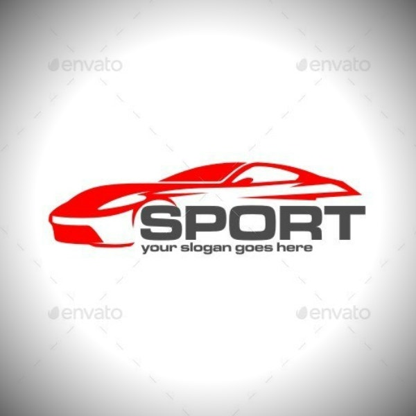 racing car sports logo format