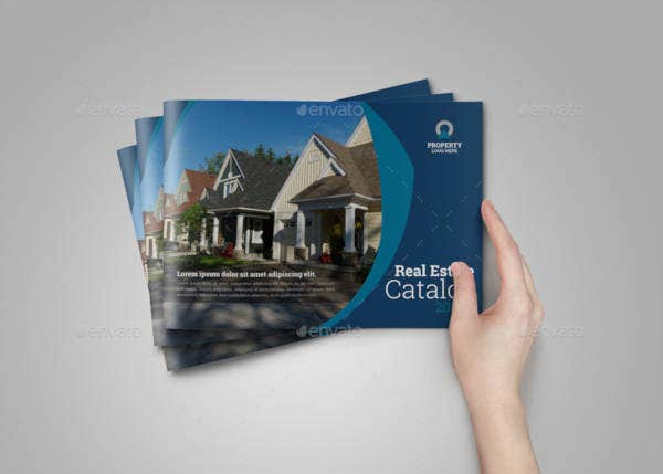 real estate agency brochure catalog