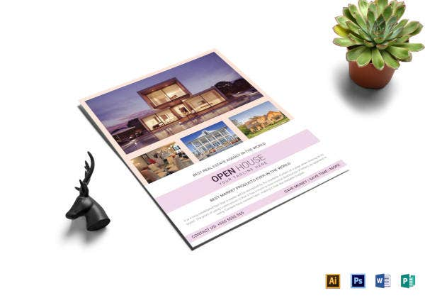 real-estate-agency-open-house-flyer