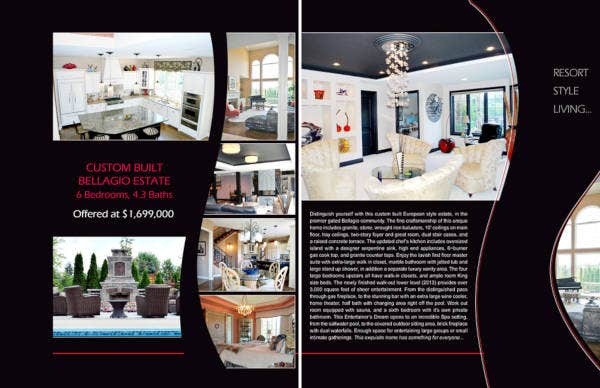 real estate brochure for agent