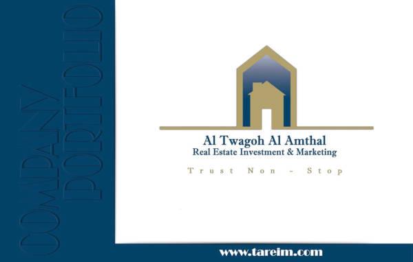 real estate company portfolio template