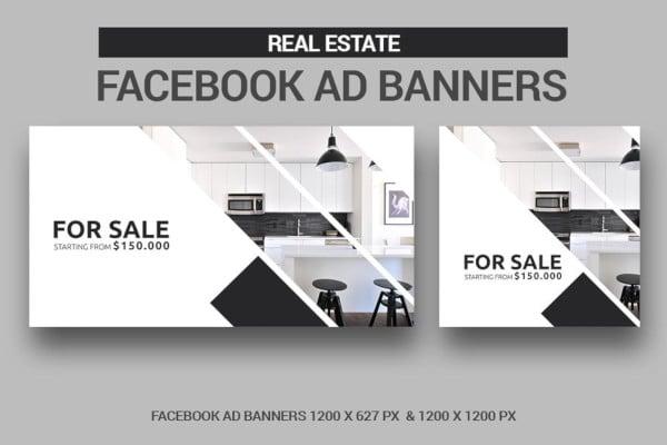 real estate facebook ad banner
