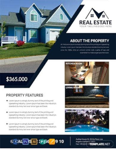 real-estate-house-flyer-template
