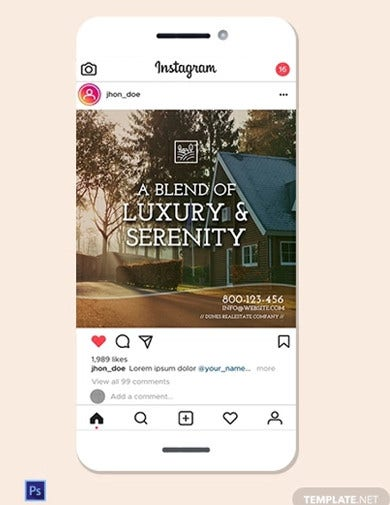 real estate instagram ad template2