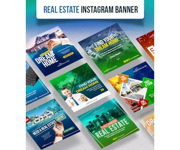 real estate instagram banner