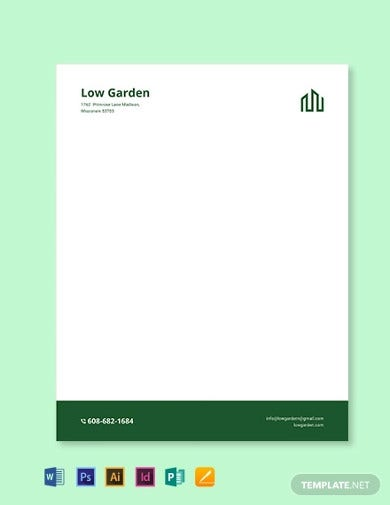 real estate letterhead template2