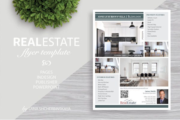 real estate marketing flyer template2