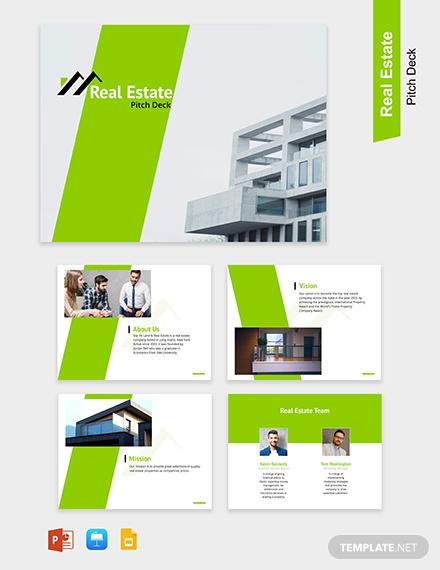 real estate marketing presentation sample