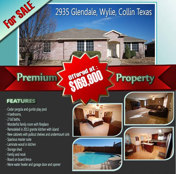 real estate portfolio example