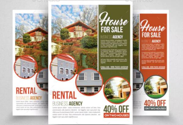 real estate property flyer