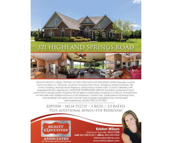 real estate property marketing flyer