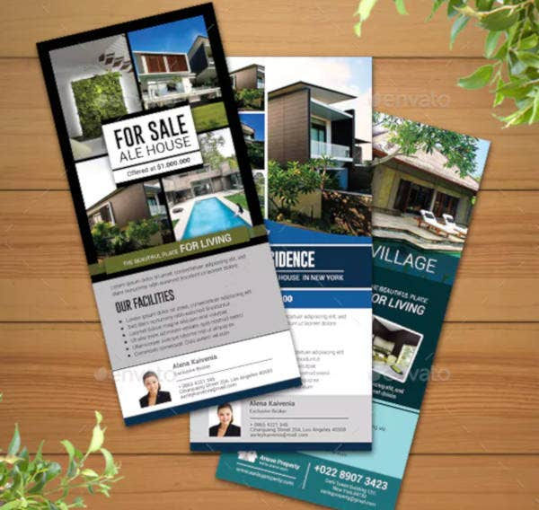 real estate rack card example