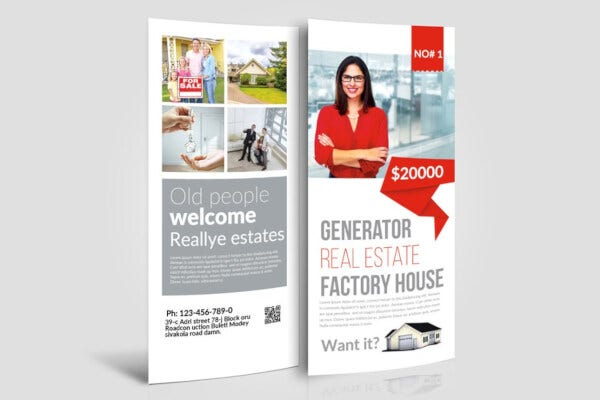 real estate rack card templates