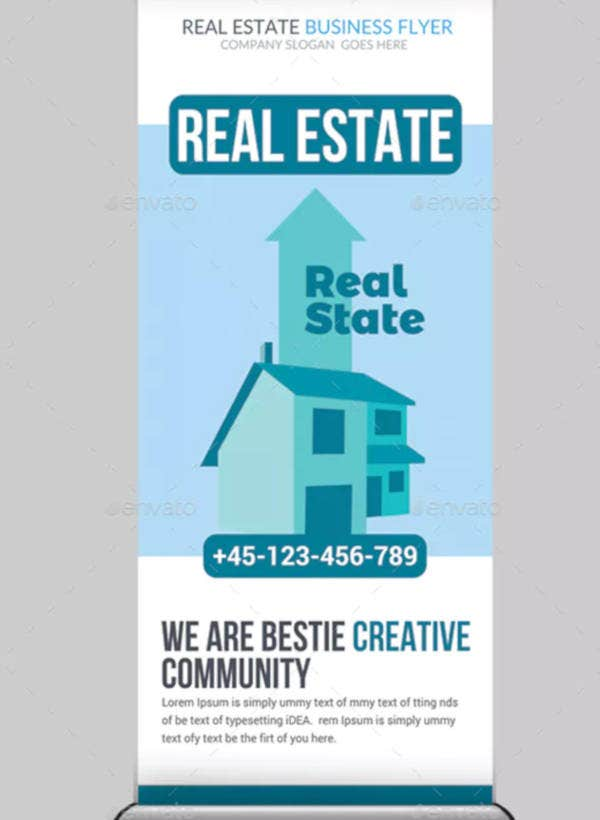 real estate rollup banner example