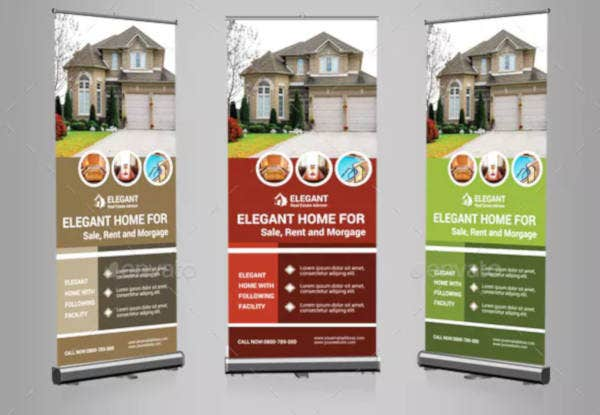 14 Free Real Estate Roll Up Banner Templates In Ai Psd Free Premium Templates