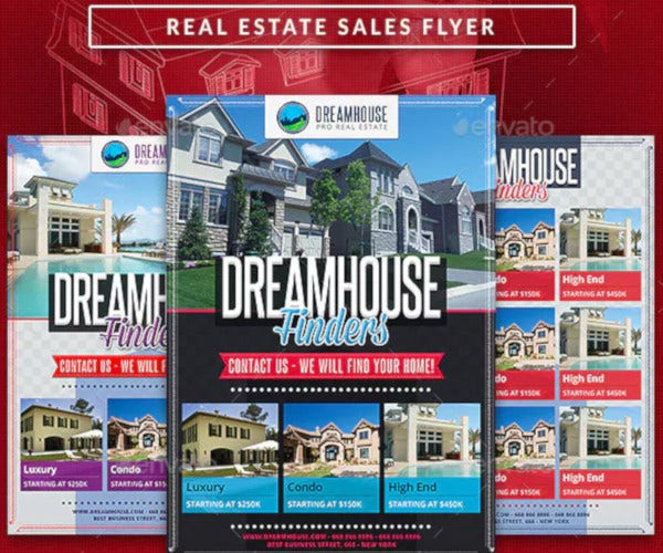 real-estate-sales-commerce-flyer