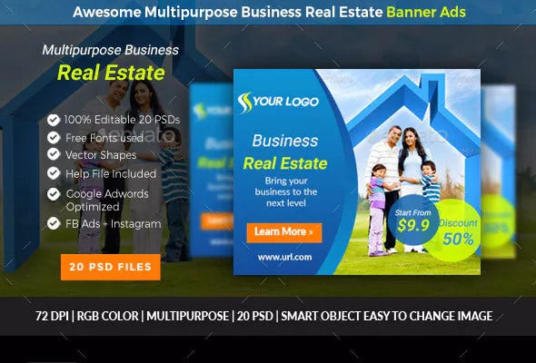 16 Free Real Estate Social Media Templates In Psd Pdf Doc Free Premium Templates