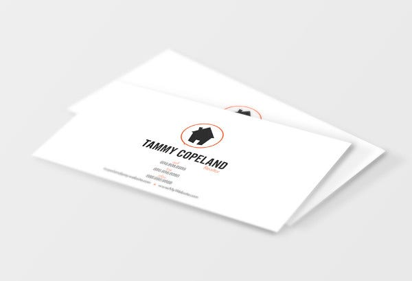 realtor business card design