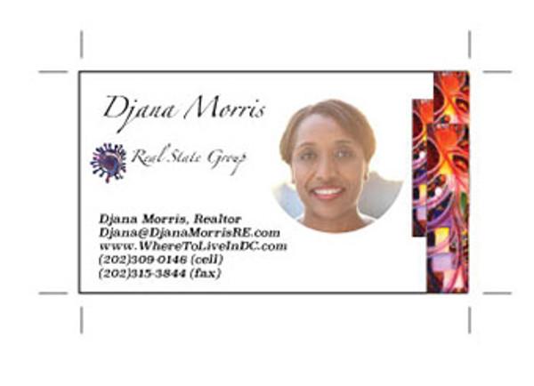 realtor business card editable