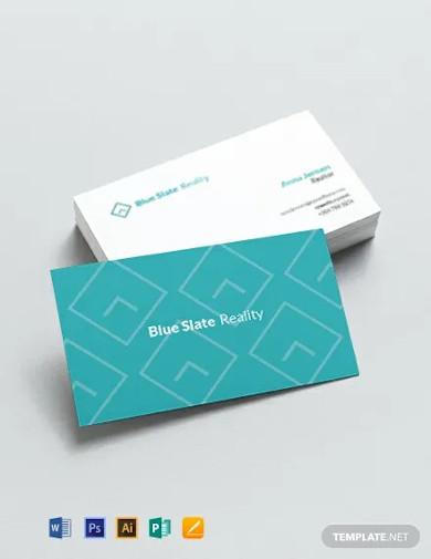 realtor business card template2