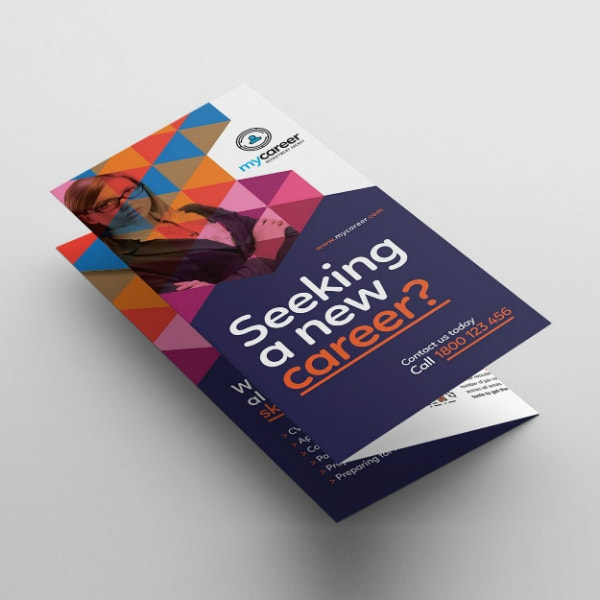 Recruitment Agency Tri-Fold Brochure Format