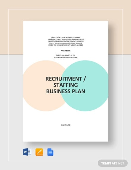 recruitment staffing agency business plan template1