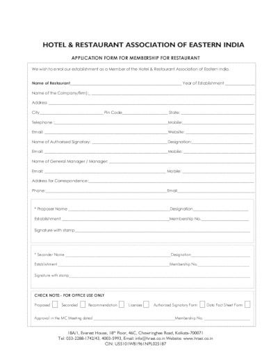restaurant-application-forma-in-pdf