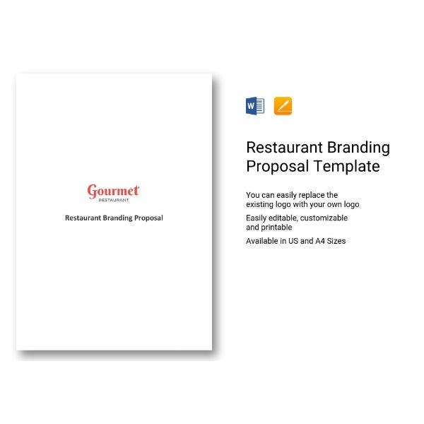 restaurant branding proposal example1