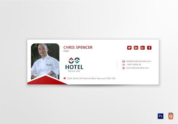 restaurant-chef-email-signature