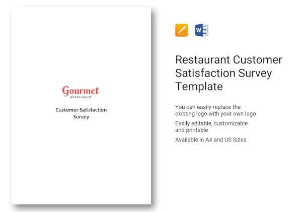 restaurant-customer-satisfaction-survey-template