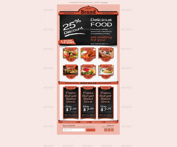 restaurant-email-newsletters-template