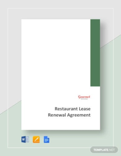 restaurant-lease-renewal-agreement-template