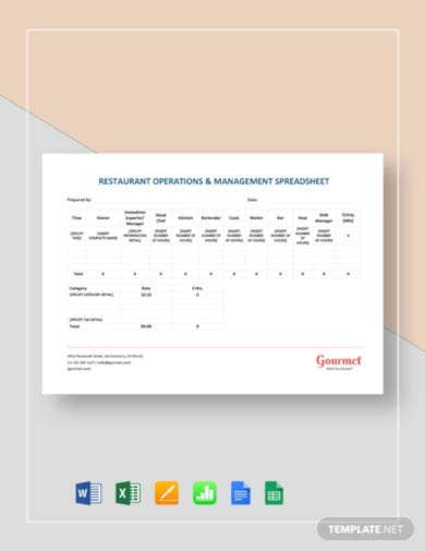 restaurant-operations-management-spreadsheet