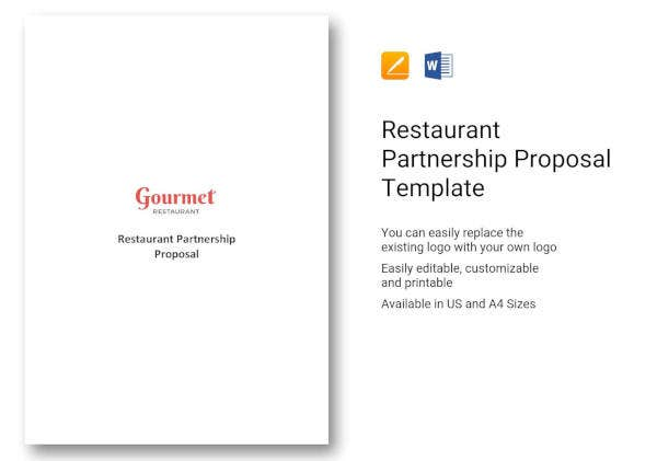 restaurant-partnership-proposal-template