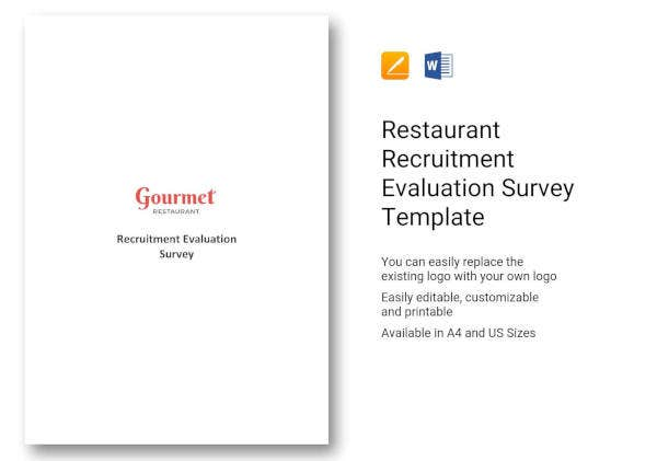 restaurant-recruitment-evaluation-survey