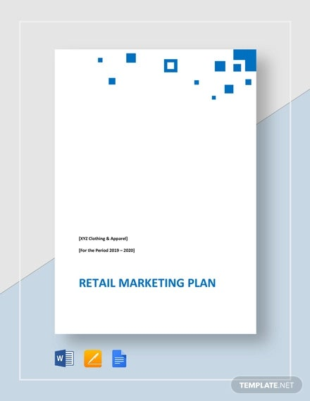 retail marketing plan template1