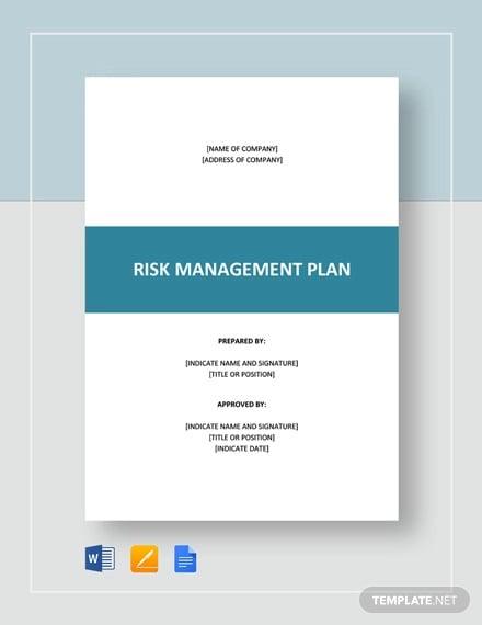 risk management plan template2
