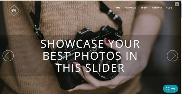 rokophoto retina ready wordpress theme