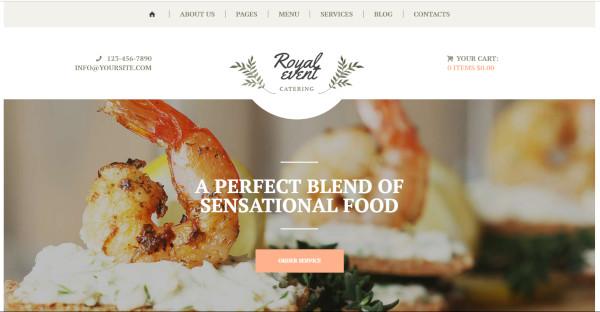 royal event – 5 blog layouts wordpress theme