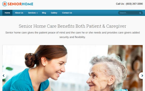 seniorhome – paypal integrated wordpress theme