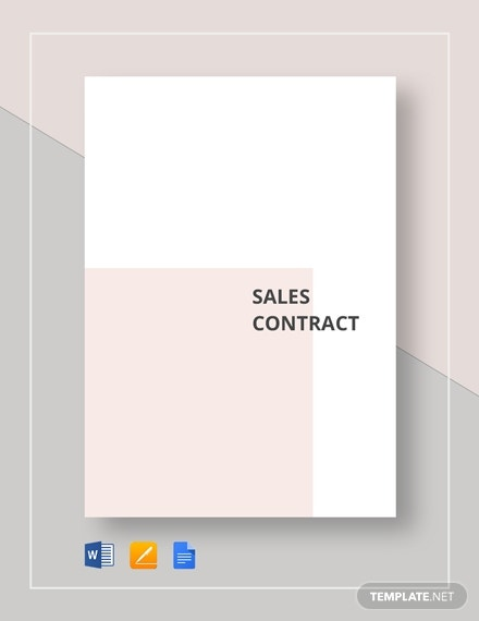 sales contract 2