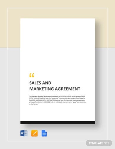 sales-and-marketing-agreement-template