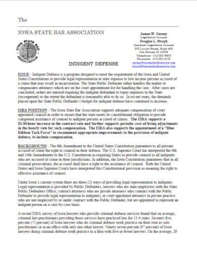 sample legal letterhead template