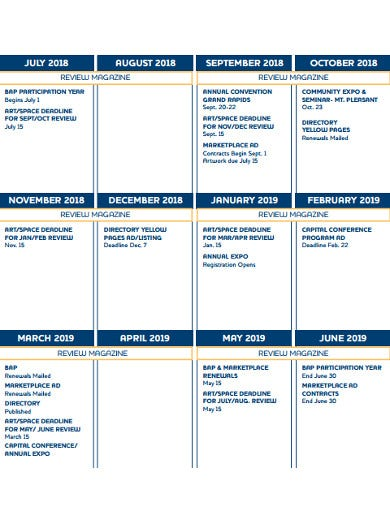 sample marketing calendar1