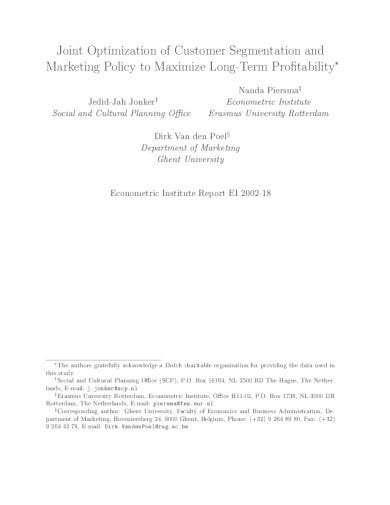 sample marketing policy in pdf