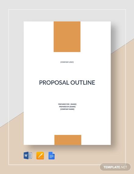 sample proposal outline1