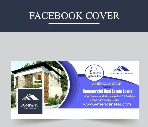 sample real estate facebook cover