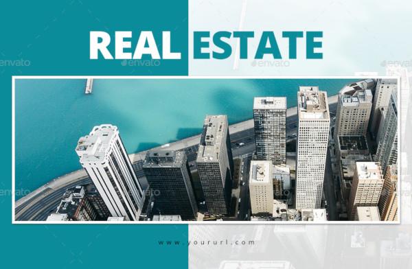 sample real estate social media template