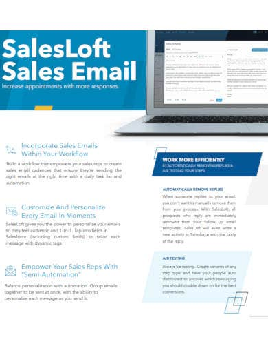 sample sales email template
